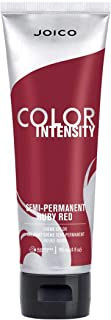 Joico Intensity Semi-Permanent Hair Color, Ruby Red, 4 Ounce