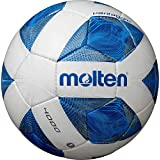 molten(モルテン) サッカーボール 一般・大学・高校・中学校用 5号球 検定球 ヴァンタッジオ4000 ホワイト×ブルー F5A4000
