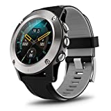 READ Smart Watch Fitness Activity Tracker(Altimeter+Barometer+Compass) with Full-Touch Screen, Heart Rate Sleep Tracking Step Counter IP67 Waterproof for Men Outdoor Bluetooth Android and iOS