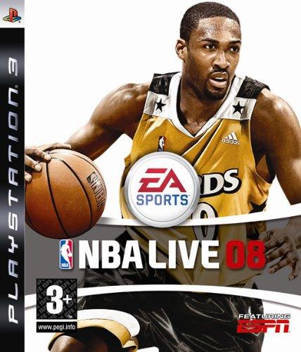 Electronic Arts NBA Live 08, PS3
