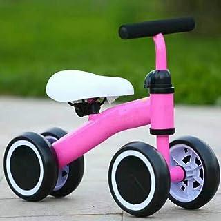 lucky coco Bicicleta de Equilibrio Niños Andador Infantil para Niños Scooter para Niños Balancín para Bebés Andador Sin Pedal