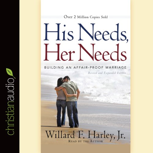 His Needs, Her Needs     Building an Affair-Proof Marriage              By:                                                                                                                                 Willard F. Harley Jr.                               Narrated by:                                                                                                                                 Willard F. Harley Jr.                      Length: 7 hrs and 25 mins     987 ratings     Overall 4.6
