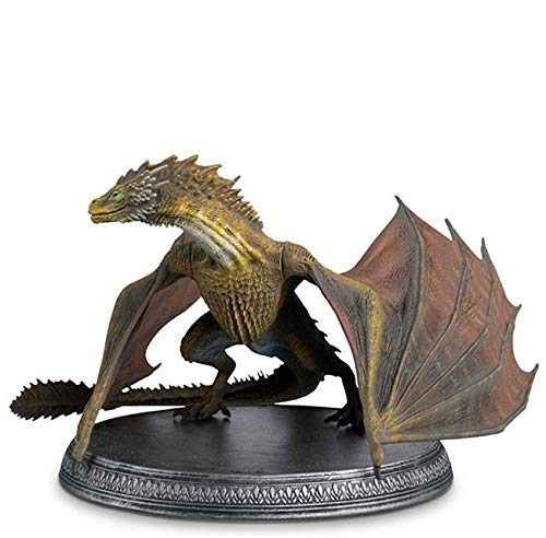 Statue des Harzes. Game of Thrones Collection Special Viserion 8x16 cms