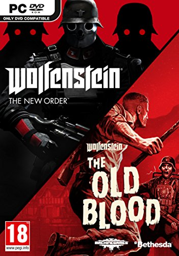 Preisvergleich Produktbild Wolfenstein The New Order and The Old Blood Double Pack (PC DVD) [UK IMPORT]