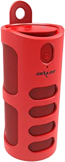 Exquisite Zealot S8 Bluetooth Speaker Portable 3D Touchable Bass TF Card Hands-Free AUX Red Maoyou