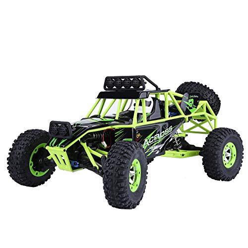 Ferngesteuertes Auto, 4WD Groß Größe RC Rock Crawler Elektrisches RC-Auto mit 2,4 GHz 1:12 Fernbedienung Truck Off Road Fahrzeug Geschenk mit LED Lichter für Kinder Hobby Jugendlichen Erwachsene