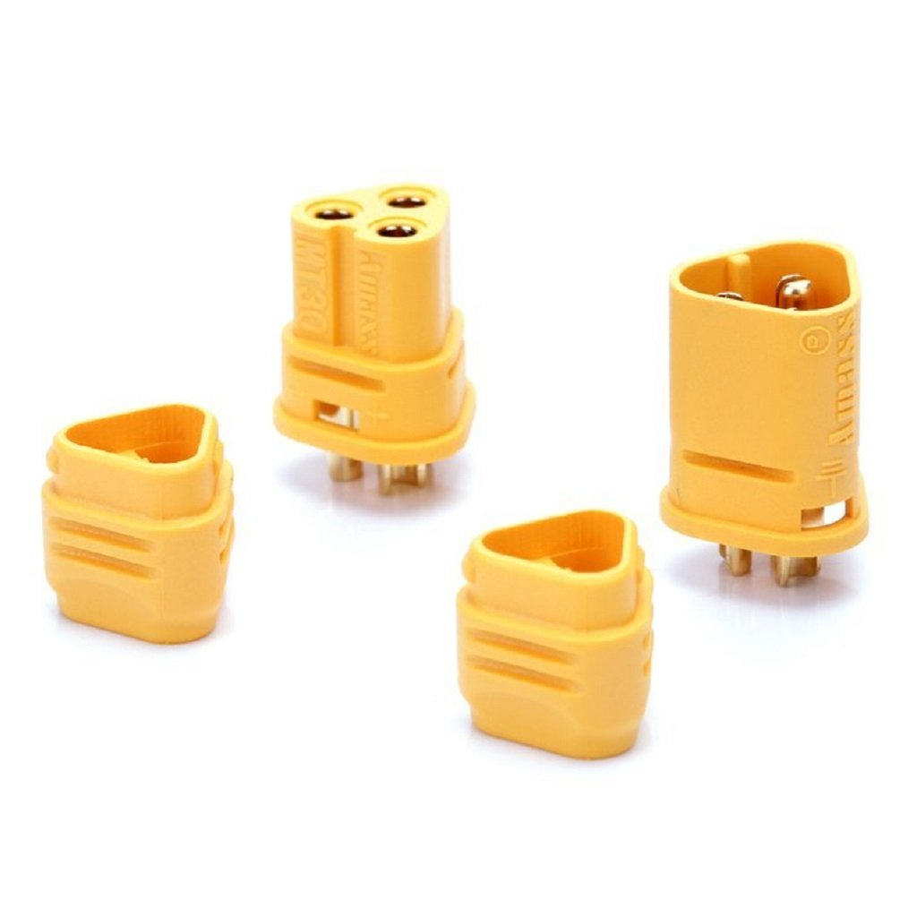 UAV 5 Pairs MT30 Connector 2mm 3-Pin Male and Female Motor C
