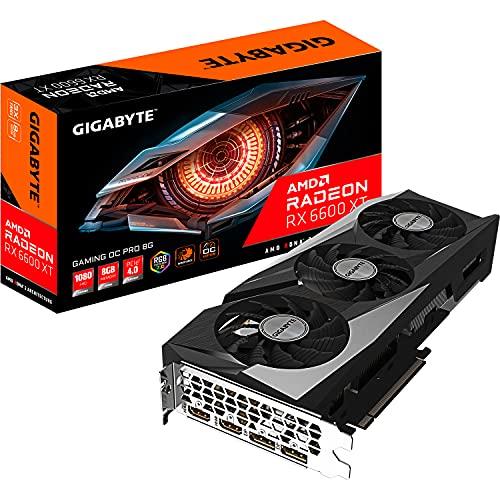 Gigabyte Radeon RX 6600 XT Gaming OC PRO...
