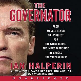 Governator audiobook cover art
