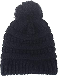 B.J Kids Baby Toddler Cable Knit Beanie Children's Pom Winter Warm SKI Hat Beanie Hat