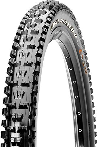 Maxxis High Roller II Single Compound EXO Folding Tire, 27.5-Inch x 2.4-Inch