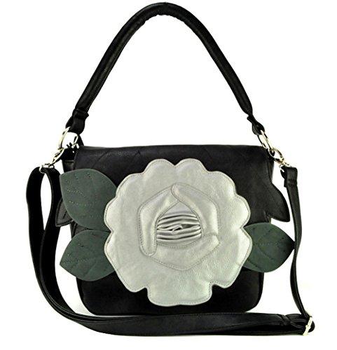 Acosta Jewellery - Bolso al hombro de sintético para mujer negro negro talla única