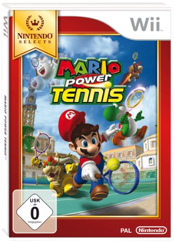 Mario Power Tennis - [Nintendo Wii]