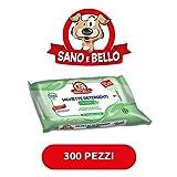 Bayer Salviette per cani e gatti Multipack 300 pezzi (6x50 pezzi) Aloe