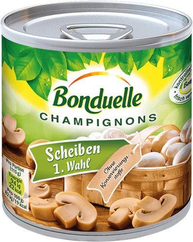 Bonduelle Champignons Scheiben 1. Wahl - 12x 200 g