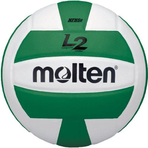 Molten Premium Competition L2Volleyball, NFHS zugelassen, grün/weiß