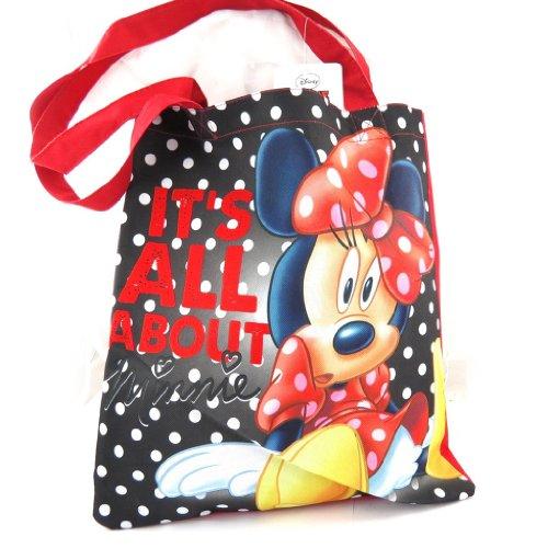 Minnie [K1686] - Sac Shopping 'Minnie' Noir Rouge