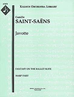 Javotte (Fantasy on the ballet suite): Harp part (Qty 2) [A7674]