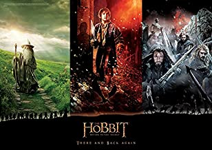 MightyPrint Hobbit Trilogy (There and Back Again) Wall Art Next Generation Premium Print