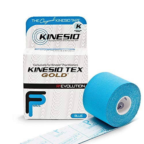 Kinseio Taping - Kinesiology Tape Tex Gold FP - Blue – 2 in.