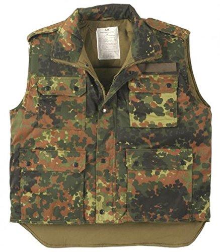 Gilet de Rangers US doublé, camouflage - XXL