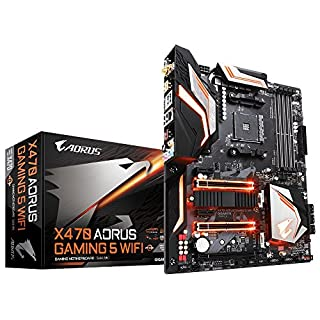 Gigabyte X470 AORUS Douille Am4/DDR4/S-ATA 600/ATX Gaming 5 WiFi – Noir (B07CQFKVMK) | Amazon price tracker / tracking, Amazon price history charts, Amazon price watches, Amazon price drop alerts