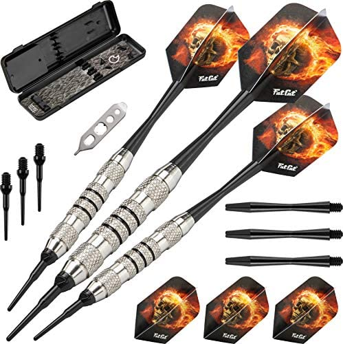 Fat Cat Blazer Soft Tip Darts with Storage Travel Case 16 Grams product image