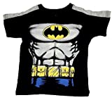 DC Comics Little Boys' Batman Toddler Short Sleeve Tee Shirt (2T) Black