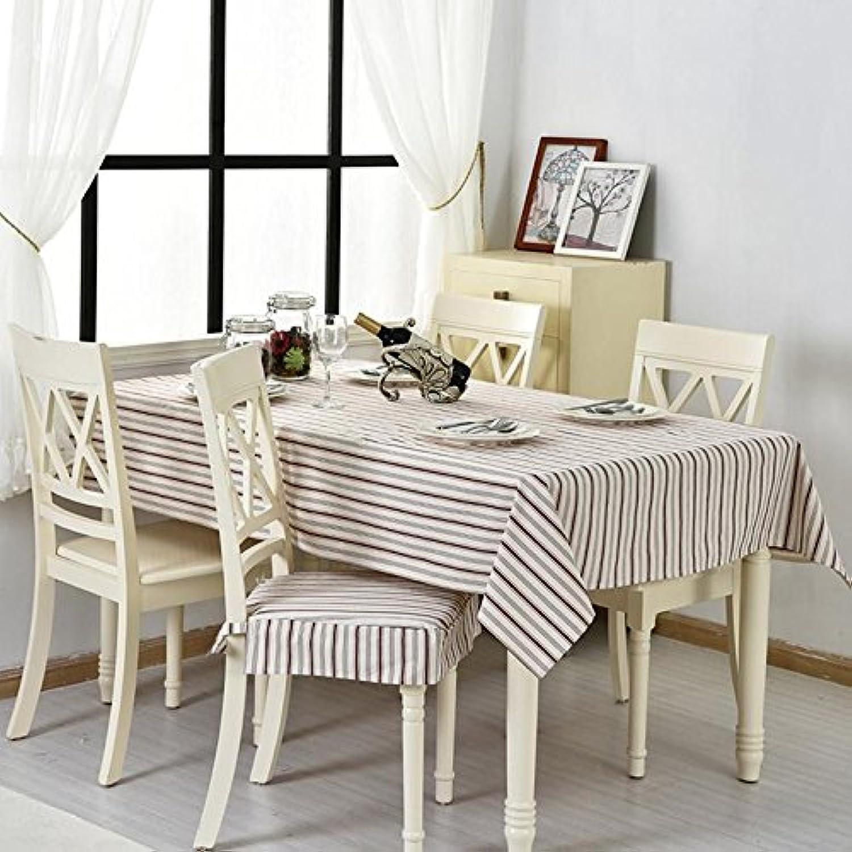 Tischdecke Baumwolltuch Stoff rechteckig Home Picknick Staubdicht AntiFouling Soft Premium Tisch