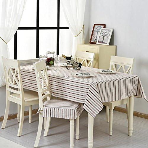 Tischdecke Baumwolltuch Stoff rechteckig Home Picknick Staubdicht Anti-Fouling Soft Premium Tisch
