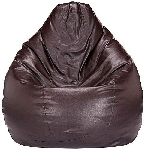 Mellifluous Luxurious Bean Bag Cover Without Beans (XXL (Without Bean)