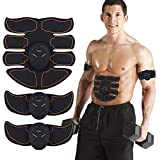 MATEHOM Abs Trainer, EMS Muscle Stimulator, Ab Belt Toning, Fitness Training Gym Workout