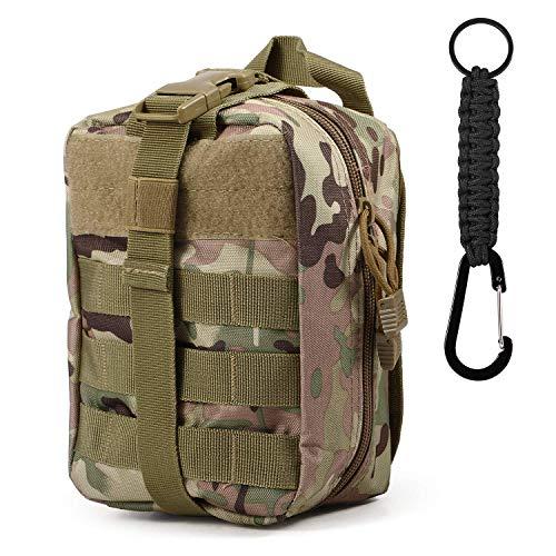 MAYEN Taktische Hufttaschen 600D Nylon Erste Hilfe Tasche Military Pouch Molle Taktische fur Sportreisen Wandern Laufen Radfahren Camping Jagd