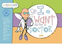 Doctor role playset pack for pretend play includes Stickers, Eyesight Chart, End of Bed Notes etc by Wannabees