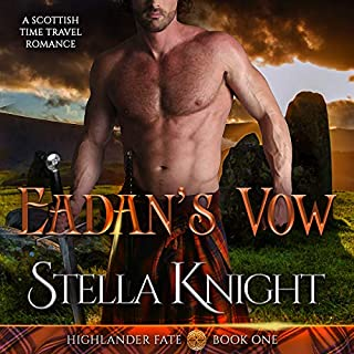 Eadan's Vow: A Scottish Time Travel Romance (Highlander Fate) audiobook cover art