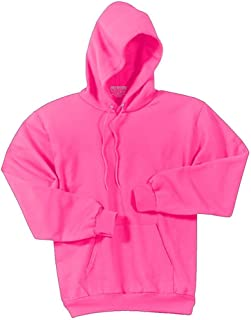 Joe's USA Bright Neon Hooded Sweatshirts - Hoodie Sizes Adult S - 4XL