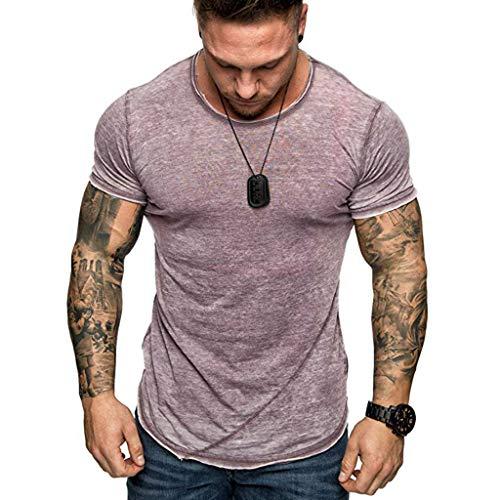 Roiper T-Shirt - Manches Courtes - Hommes Skull Drapeau Impression T-Shirts Col Rond Chemise À Manches Courtes T-Shirt Blouse Tops Blouses Grande Taille S-2XL
