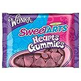 Wonka Sweetarts Valentine's Gummy Hearts, 11-ounce (2) Bags