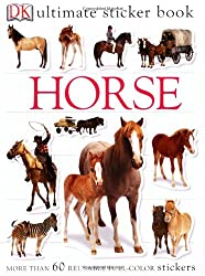Ultimate Sticker Book: Horse