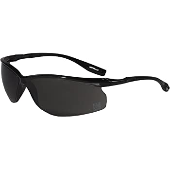 3M Holmes Workwear Safety Glasses, Black Frame with CSS Dark Lens