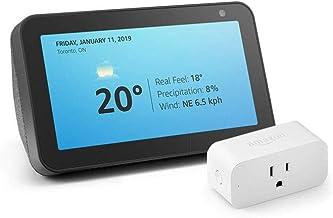 Echo Show 5 with Amazon Smart Plug, Charcoal