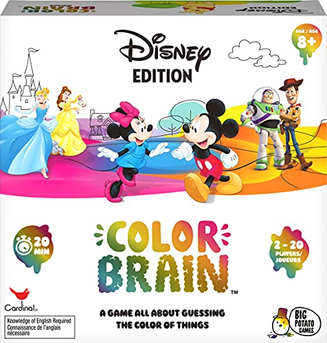 Disney Color Brain Board Game