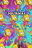 Journal Simpsons Notebook Calendar 2022 Planner Monthly Weekly Edition 6: Gift Kids Adult Collector
