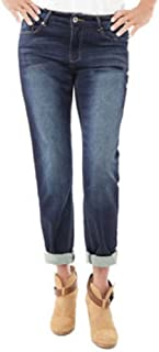 BUFFALO David Bitton Ladies' Boyfriend Style Knit Jean-Indigo, 2/26