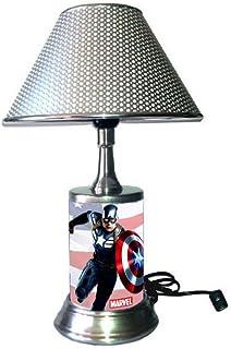 Heartbeat Series Love Superhero Symbol Marvel Inspired Lamp