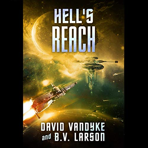 Hell's Reach audiobook cover art
