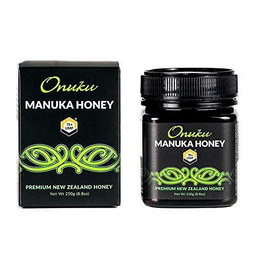 Onuku Miel de Manuka Premium de Nueva Zelanda UMF 15+ 250g