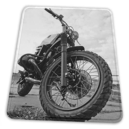 Gaming Matte,Motocross Dirt-Bike-Mauspads, Funktionale Gaming-Mausmatte Für Heim-Pc-Dekor,18x22cm
