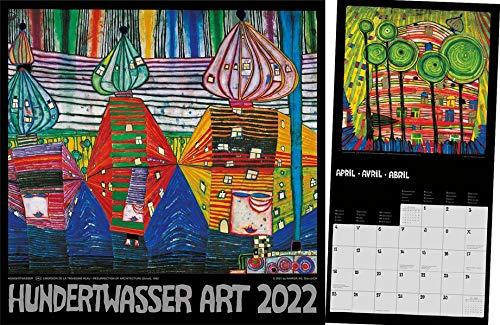 Hundertwasser Broschürenkalender Art 2022: Der Besondere
