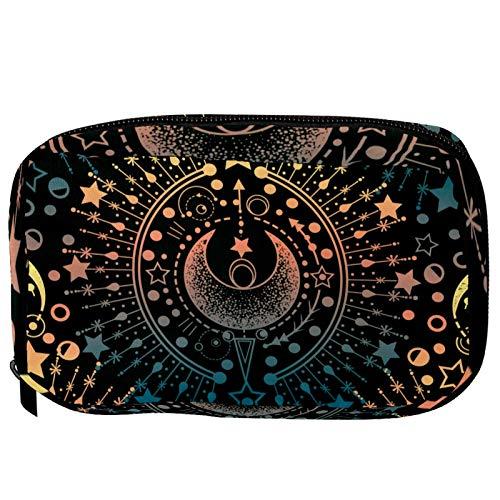 Trousse de toilette pour femme et fille - Symbole astrologie magique - Trousse de toilette - Pour voyage